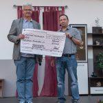 Spendenübergabe an die Würzburger Kindertafel